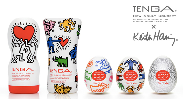 The new Keith Haring collection from Tenga