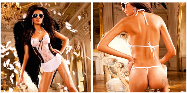 Baci – The French Maid Bed Time Outfit.png