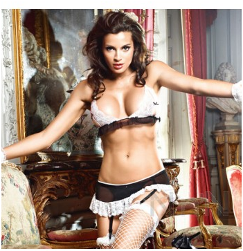 Baci The Do Not Disturb French Maid Set