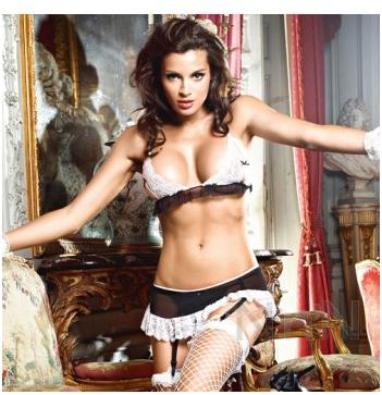 Baci The Do Not Disturb French Maid Set