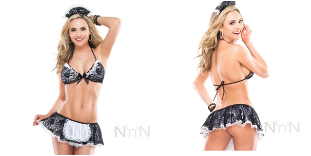 French Maid Set by Coquette