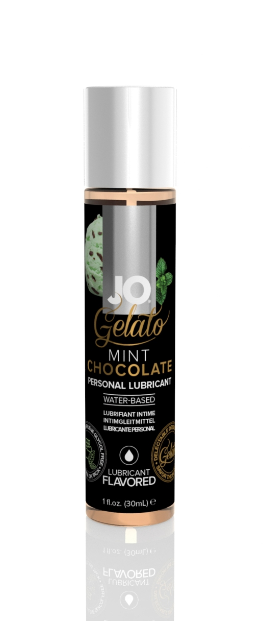 41022 - JO GELATO - MINT CHOCOLATE - LUBRICANT (WATER-BASED) 1 floz 30 mL