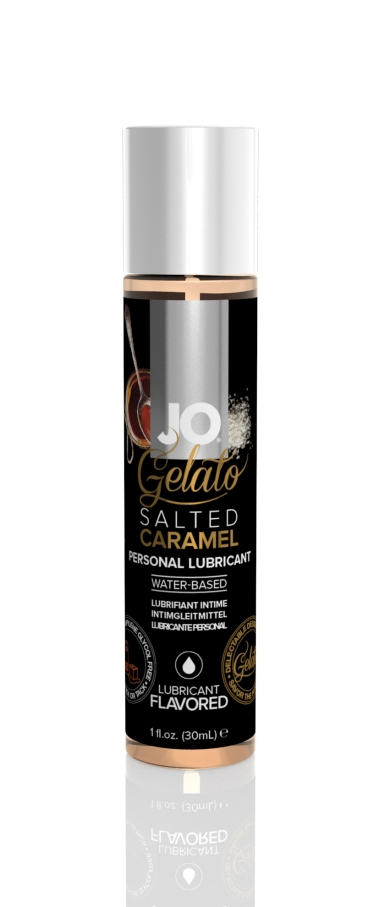 41023 - JO GELATO - SALTED CARAMEL - LUBRICANT (WATER-BASED) 1 floz 30 mL