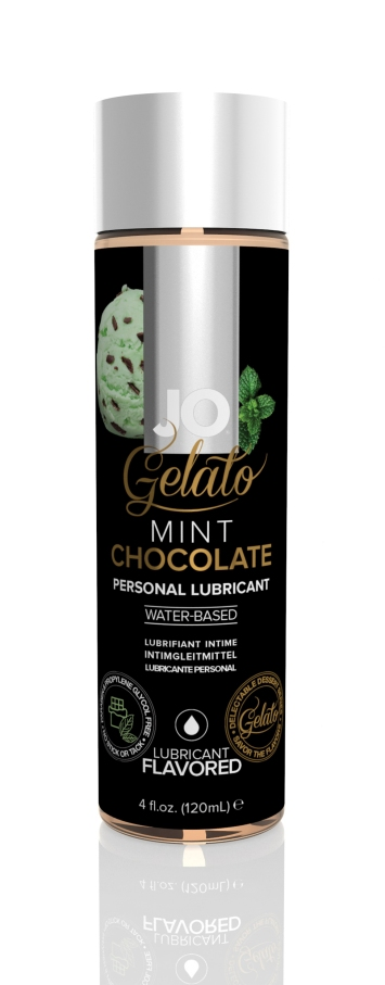 44022 - JO GELATO - MINT CHOCOLATE - LUBRICANT (WATER-BASED) 4 floz 120 mL