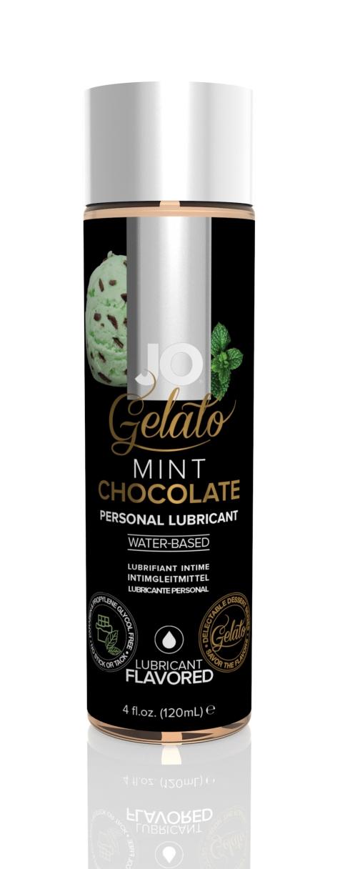 44022 - JO GELATO - MINT CHOCOLATE - LUBRICANT (WATER-BASED) 4 floz 120 mL